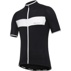 Santini Ali Maillot de cyclisme Homme, black